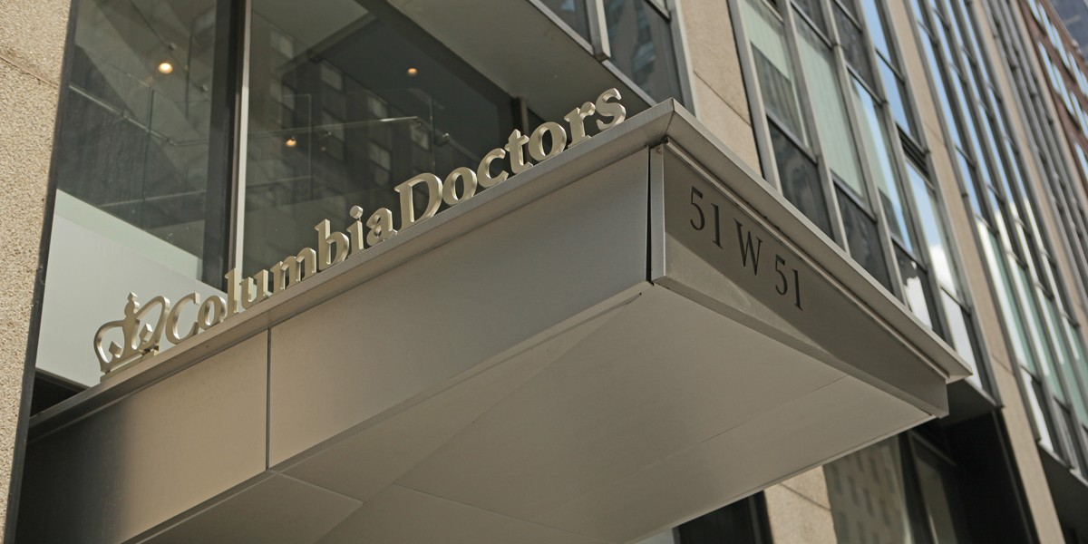 Columbia Doctors Midtown Location Awning